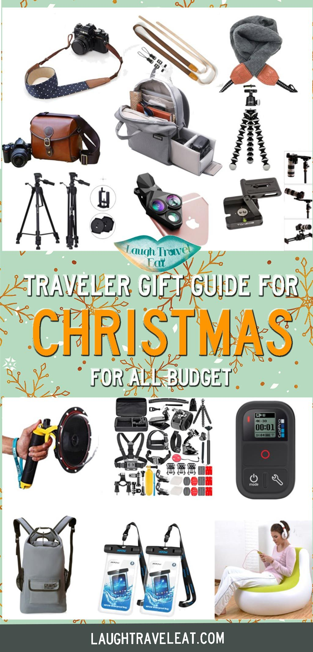 Christmas Gift Guide For Camera Lover, Adventurers, Innovation Keen Beans