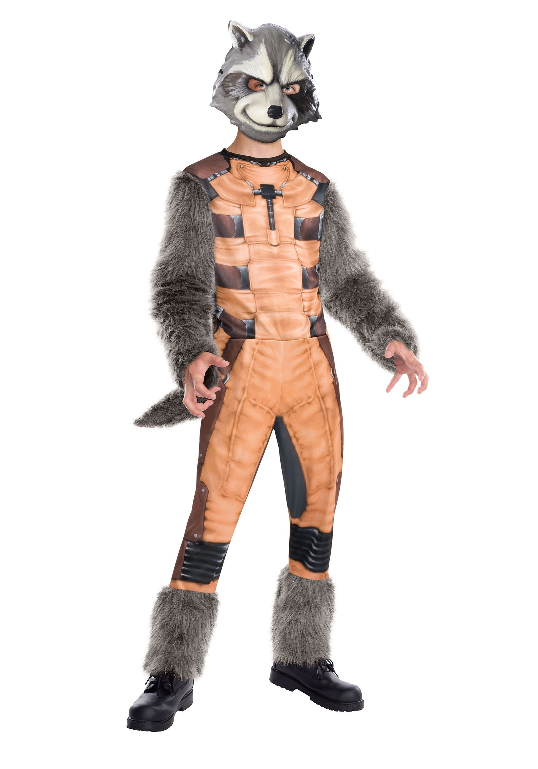 Deluxe Kids Rocket Raccoon Costume | Rocket costume, Rocket ...