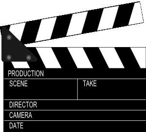 Movie Clapper Board Clip Art Vector Clip Art Online Royalty Free Public Domain Film Strip Classroom Rules Clip Art
