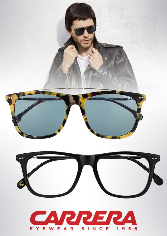 8179b21e0f Jared Leto + Carrera  Distinctive Frames for Eyewear Enthusiasts –  Eyecessorize