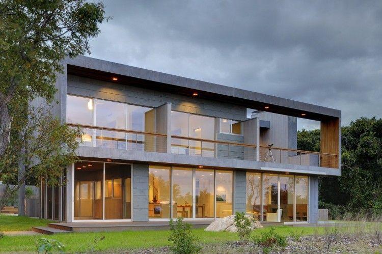 Imposante maison contemporaine au sommet d une falaise - Lions head residence bates masi architects ...