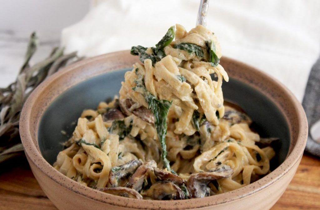 Sundried Tomato Cashew Cream Pasta Sauce Recipe Cream Sauce Pasta Healthy Recipes Cream Pasta