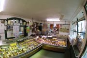 Thornes Butcher, Wiveliscombe. Award winning, local. Own beef and lamb are exceptionally good.