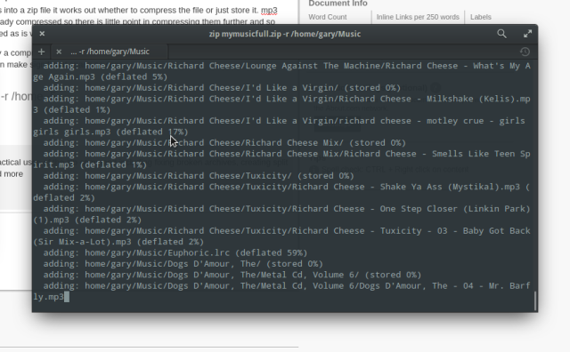 How to Compress Files Using the Linux Command Line Linux