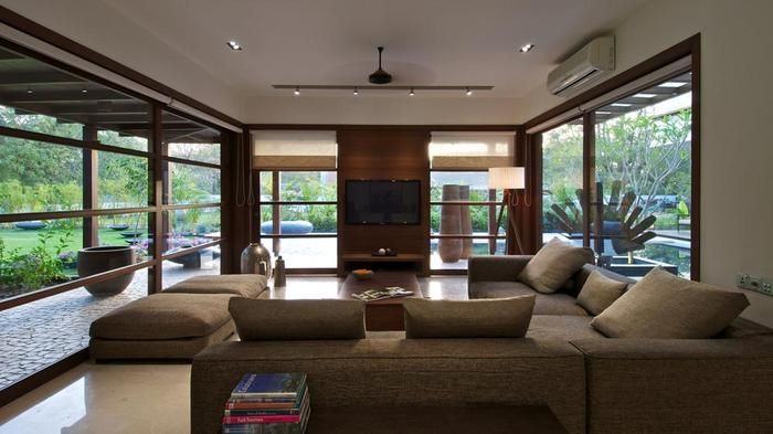 Living Room Designs - Hiren Patel Architects