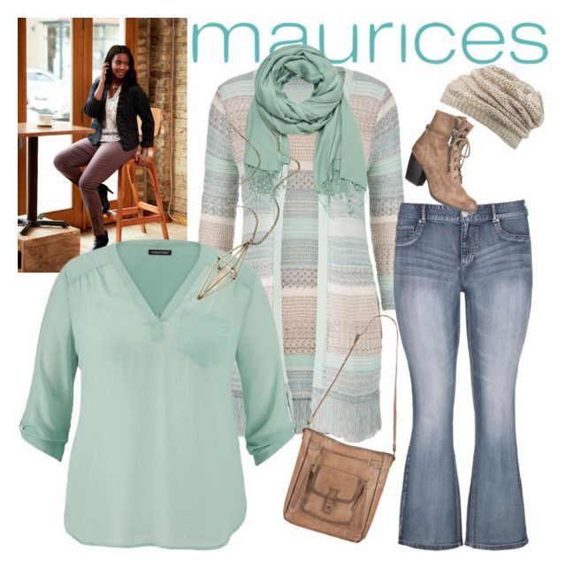 """The Perfect Blouse with maurices: Contest Entry"" by greenacres1124 ❤ liked on Polyvore featuring мода и maurices"