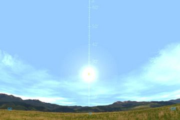 Figure A The Height Of The Noon Sun On The Winter Solstice As