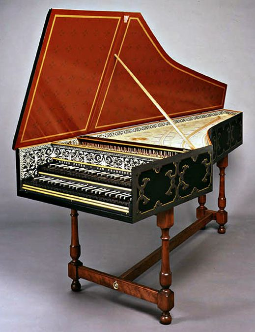 """Colmar"" Ruckers Harpsichord with Flemish Strapwork ..."