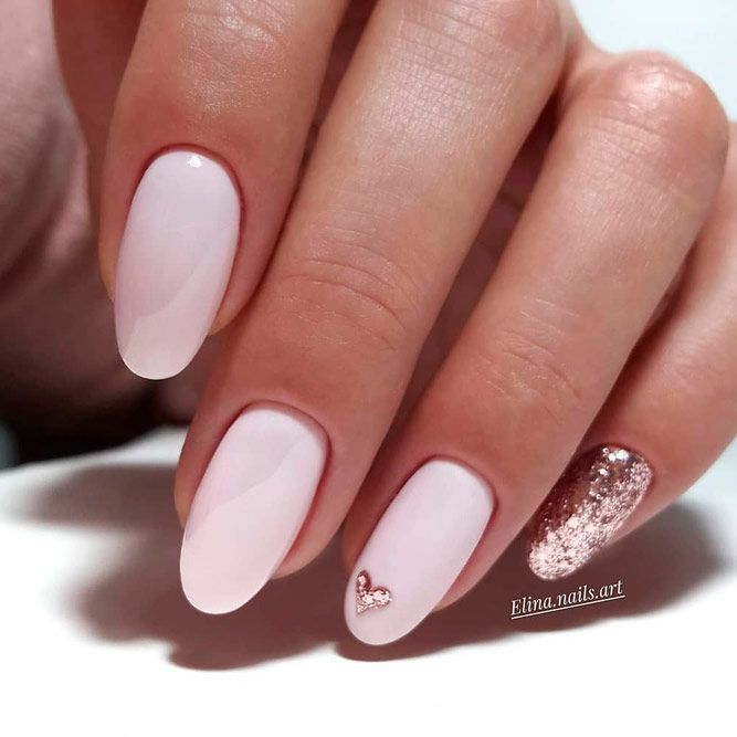 55 Happy Valentines Day Nails + Inspirational Romantic Quots – #blacknail #Day #…