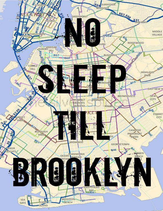 Doe Liry Map on