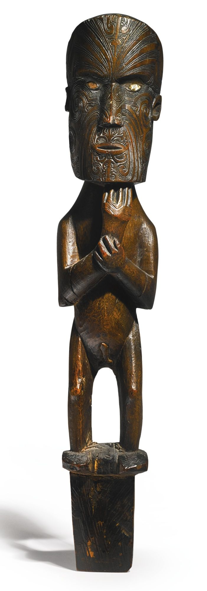 Maori Gable Ornement Figure, Nouvelle-Zélande | Lot | Sotheby