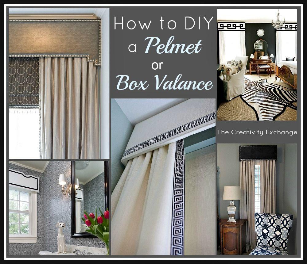 How To DIY A Pelmet Or Box Valance...