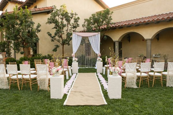 Gorgeous Outdoor Ceremony Venue All White Wedding: 100 Beautiful Outdoor Wedding Ceremonies