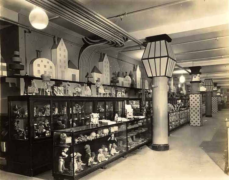 Macy S Toy Department By Theatrical Designer Landy R Hales