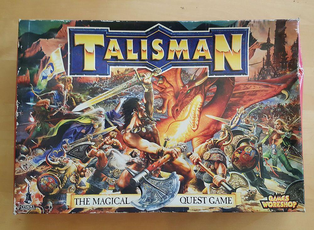 Rare 1994 Talisman Magical Quest Board Game Games