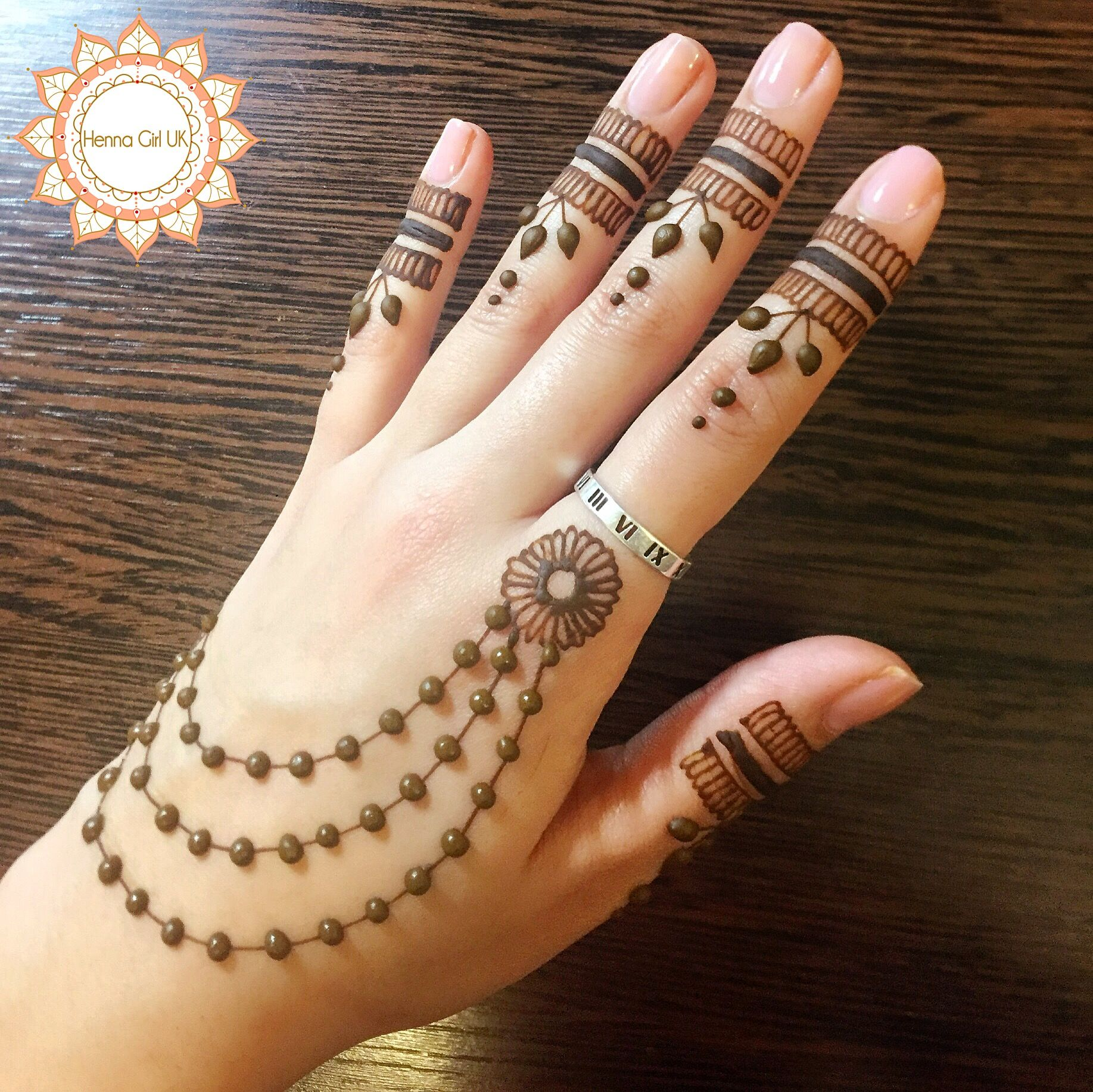 Elegant beading henna design perfect for bridesmaids also latest simple and easy mehndi designs  mehendi rh pinterest