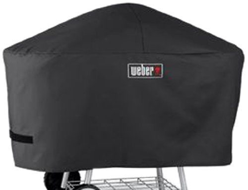 Weber 7457 Premium Cover Fits Weber One Touch Platinum Charcoal Grill Item 7516 Click Image Twice For More Info Grill Cover Portable Bbq Outdoor Bbq Grill