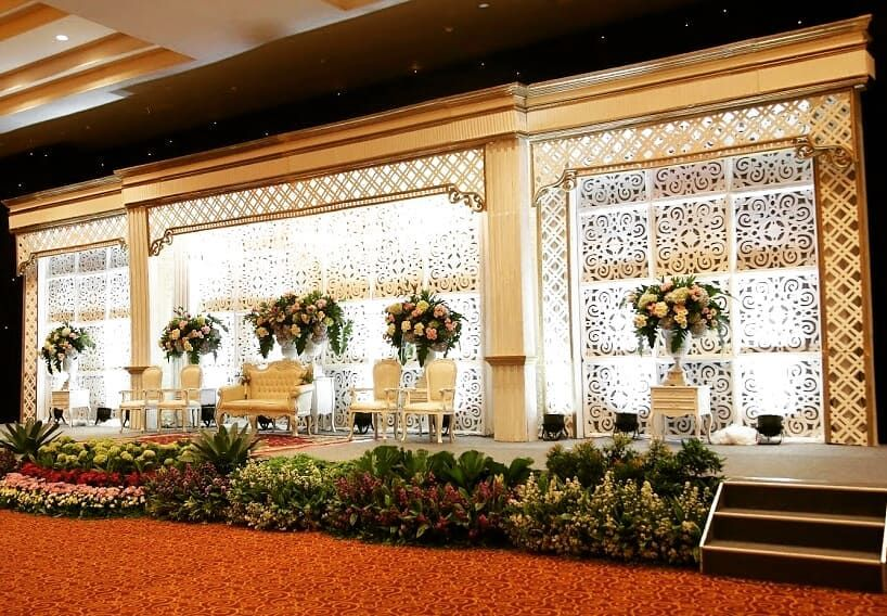 Dekorasi Di Gedung Sasana Kriya Ruang Carani Taman Mini Indonesia