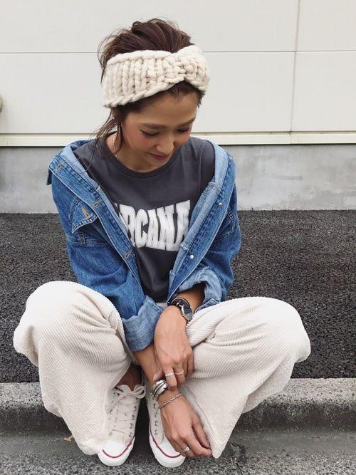 Kayo Ctrl Freak のヘアバンドを使ったコーディネート ファッション