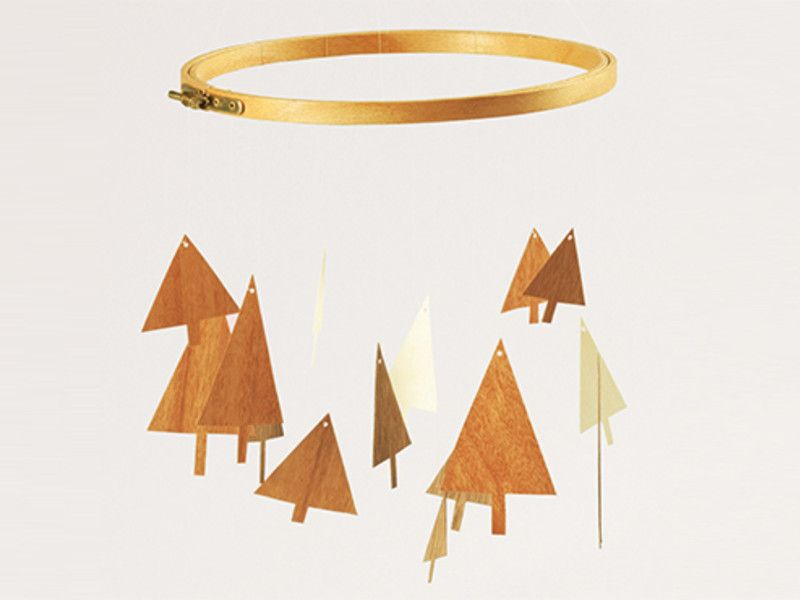 DIY Geschenke - Holz-Mobile | xmas | Pinterest | Mobiles ...