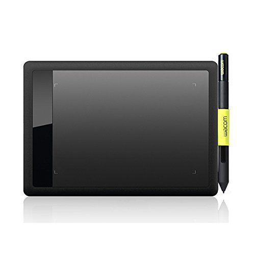 Wacom Bamboo Ctl471 Pen Tablet For Pc Mac Black And Lime Wacom