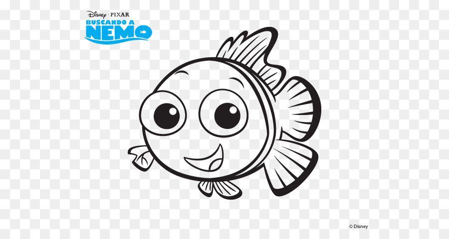 Nemo Dibujo Marlin Dory Libro Para Colorear Otros 600470 Es