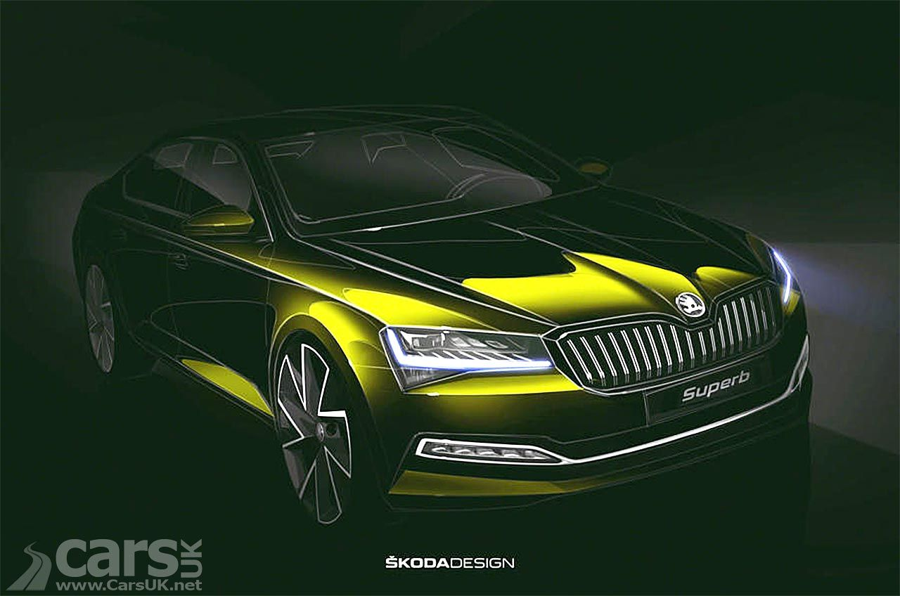 Skoda Superb Facelift Teased And There S A Plug In Hybrid Too