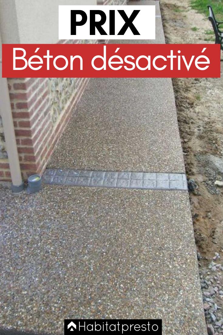 Prix Du Beton Desactive Au M Calculez Votre Budget Facilement Beton Desactive Beton Beton Lave