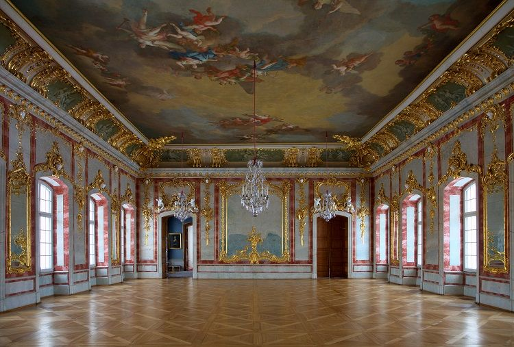 Rundale Palace - Gold Hall