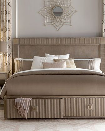 neiman marcus bedroom furniture. Ellisa King Storage Bed Neiman Marcus Bedroom Furniture