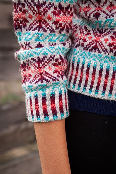 knitting patterns fair isle cardigan - Google Search | pullover ...