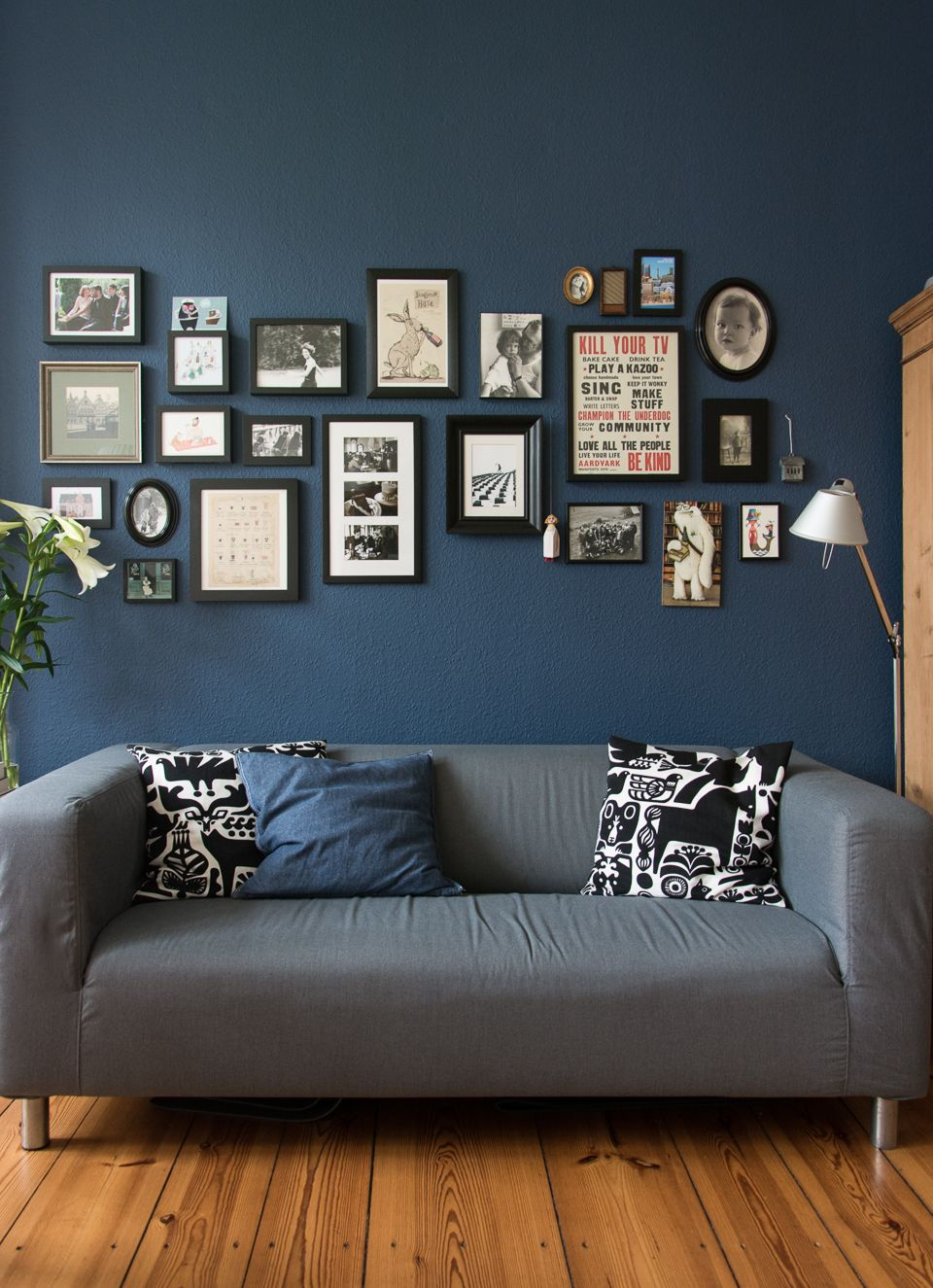 Farrow And Ball Hague Blue Living Rooms