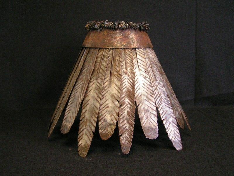 Custom Iron & Rawhide Lamp Shades by Creations Studio | CustomMade.com