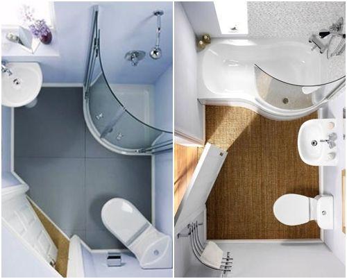 Cómo decorar baños pequeños 12 Ideas para el hogar Pinterest - decoracion baos pequeos