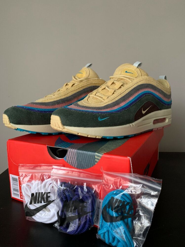 Nike Sean Wotherspoon Air Max 97 1 Size 12 Uadescription Fashion Clothing Shoes Accessories Mensshoes At Air Max 97 Supreme Box Logo Tee Sean Wotherspoon