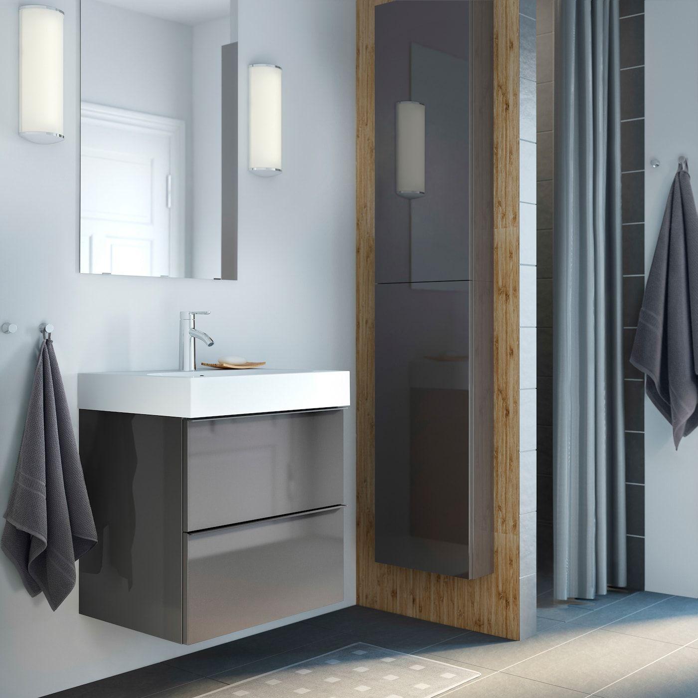 Badezimmer Ideen Inspirationen Ikea Godmorgon Badezimmer Im Erdgeschoss Badezimmer Wandschrank