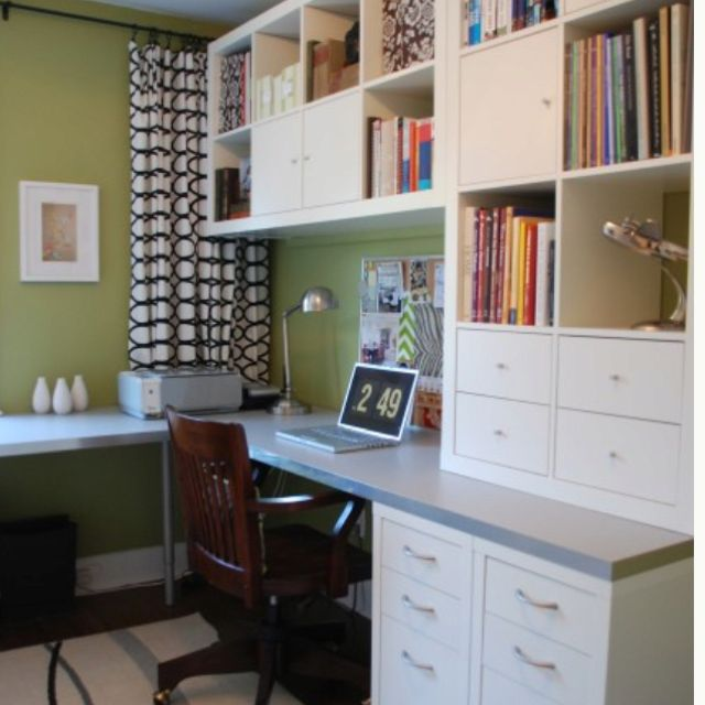 Wrap Around Desk Home Office Design Ikea Home Office Ikea Home