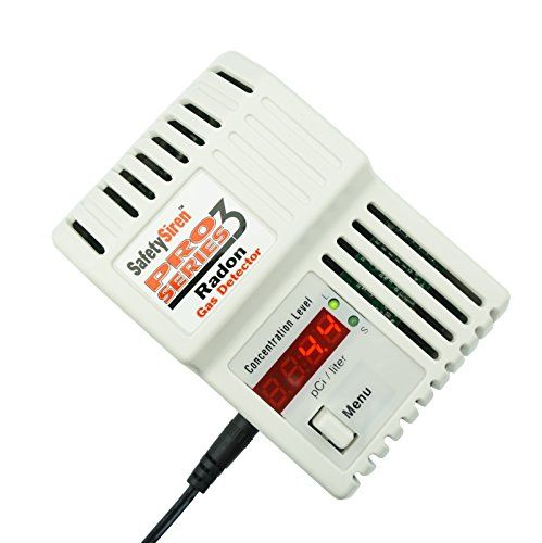 Safety Siren Pro Series3 Radon Gas Detector Hs71512 By Https Www Amazon Com Dp B000ceay64 Ref Cm Sw R Pi Dp X Scjmybyxj9me Radon Gas Gas Detector Radon