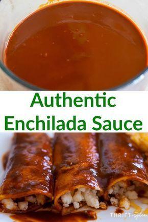 Authentic Enchilada Sauce Recipe