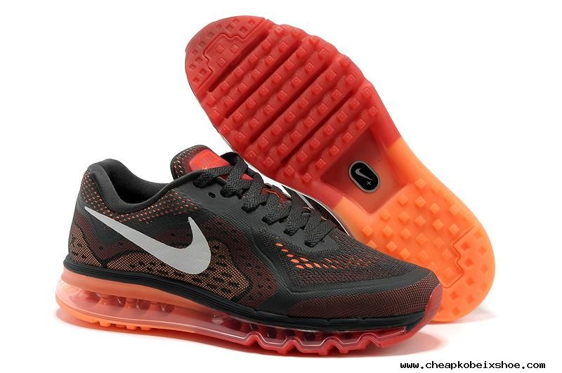 newest collection d8a30 62222 Mens Nike Air Max 2014 Anthracite Orange Shoes