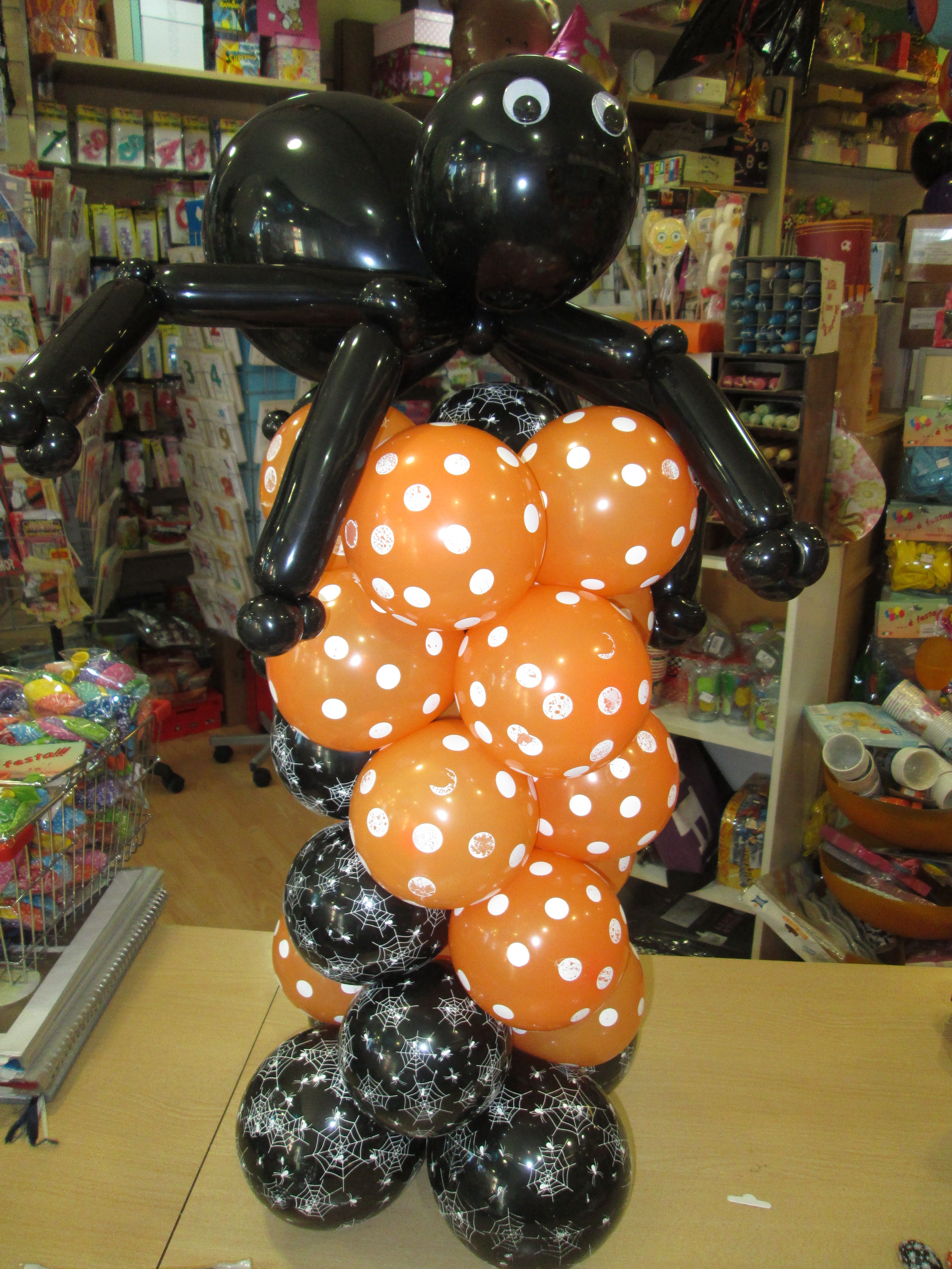 halloween   allestimenti con palloncini   Pinterest