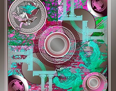 "Check out new work on my @Behance portfolio: ""Greek Silk Scarf"" http://be.net/gallery/41272805/Greek-Silk-Scarf"
