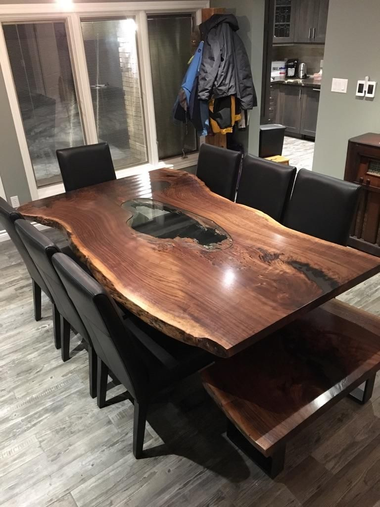 Live Edge Table, Single Slab Table, Mappa Table, Burl Table, Wood Slabs