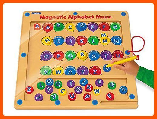 Lakeshore Magnetic Alphabet Maze Toys For Little Kids Amazon