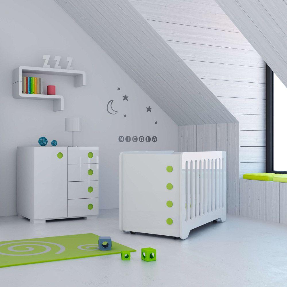 Habitaciones infantiles de dise o y modernas para beb s - Habitaciones bebe modernas ...