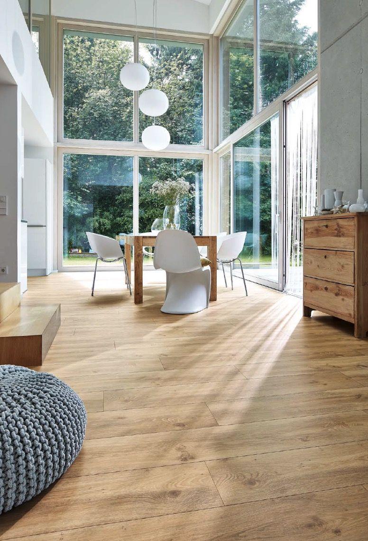 17 Wohnzimmer vinylboden grau holzoptik