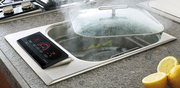 Electric Steamer Cooktop 381mm