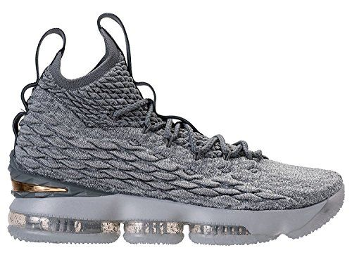 Nike Mens Lebron XV City Series 897648005 Wolf GreyMetallic Gold 11      Click on the image for additional details. (This is an affiliate link)   NikeShoes f3d8af655