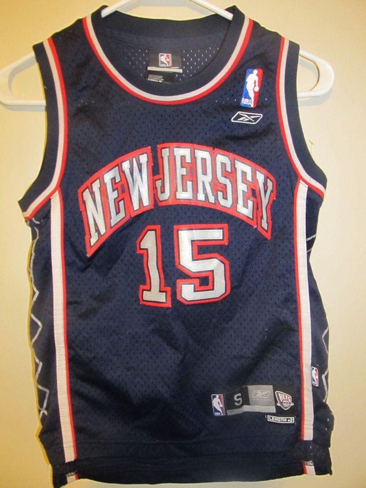 036d476e8fc Vince Carter - New Jersey Nets jersey - Nike youth Small  Reebok   NewJerseyNets