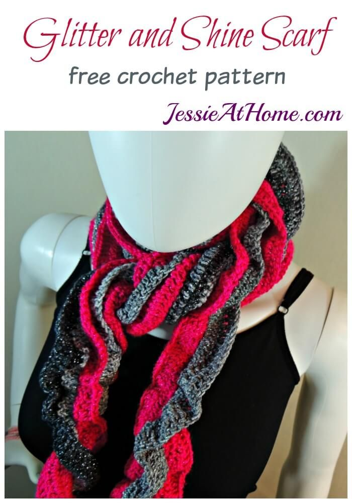 Glitter and Shine Scarf